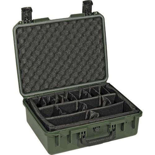 Pelican iM2400 Storm Case with Padded Dividers (Olive Drab Green)