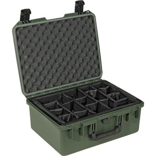 Pelican iM2450 Storm Case with Padded Dividers (Olive Drab Green)