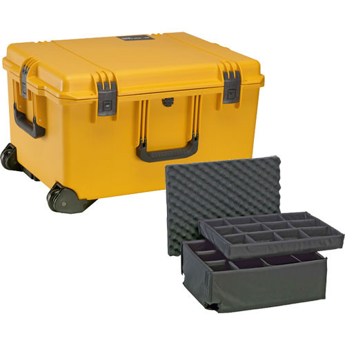 Pelican iM2750 Storm Trak Case with Padded Dividers (Yellow)