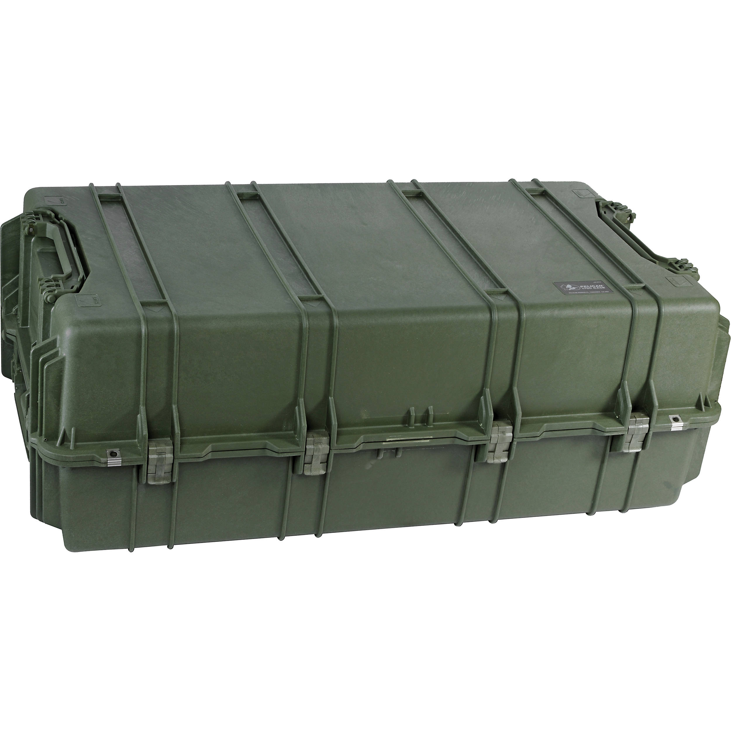 Pelican 1780W Transport Case with Rigid Polyethylene Tray (Olive Drab Green)