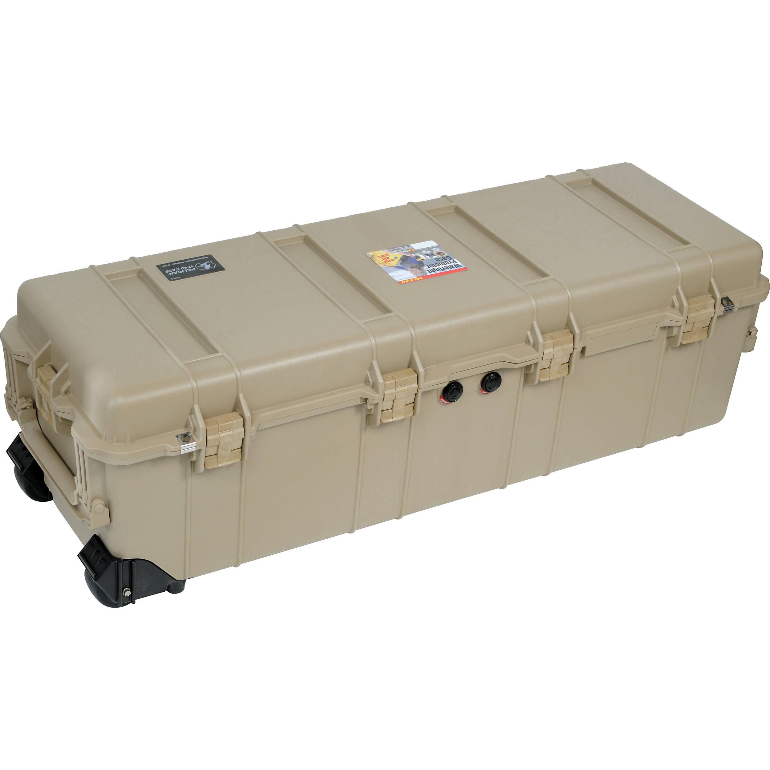 Pelican 1740NF Transport Case without Foam (Desert Tan)