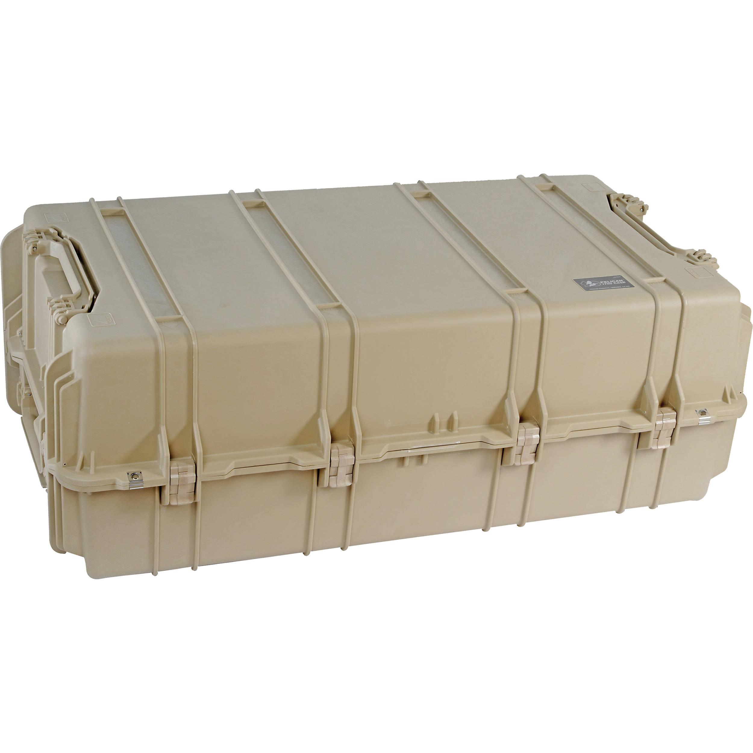 Pelican 1780TNF Transport Case without Foam (Desert Tan)
