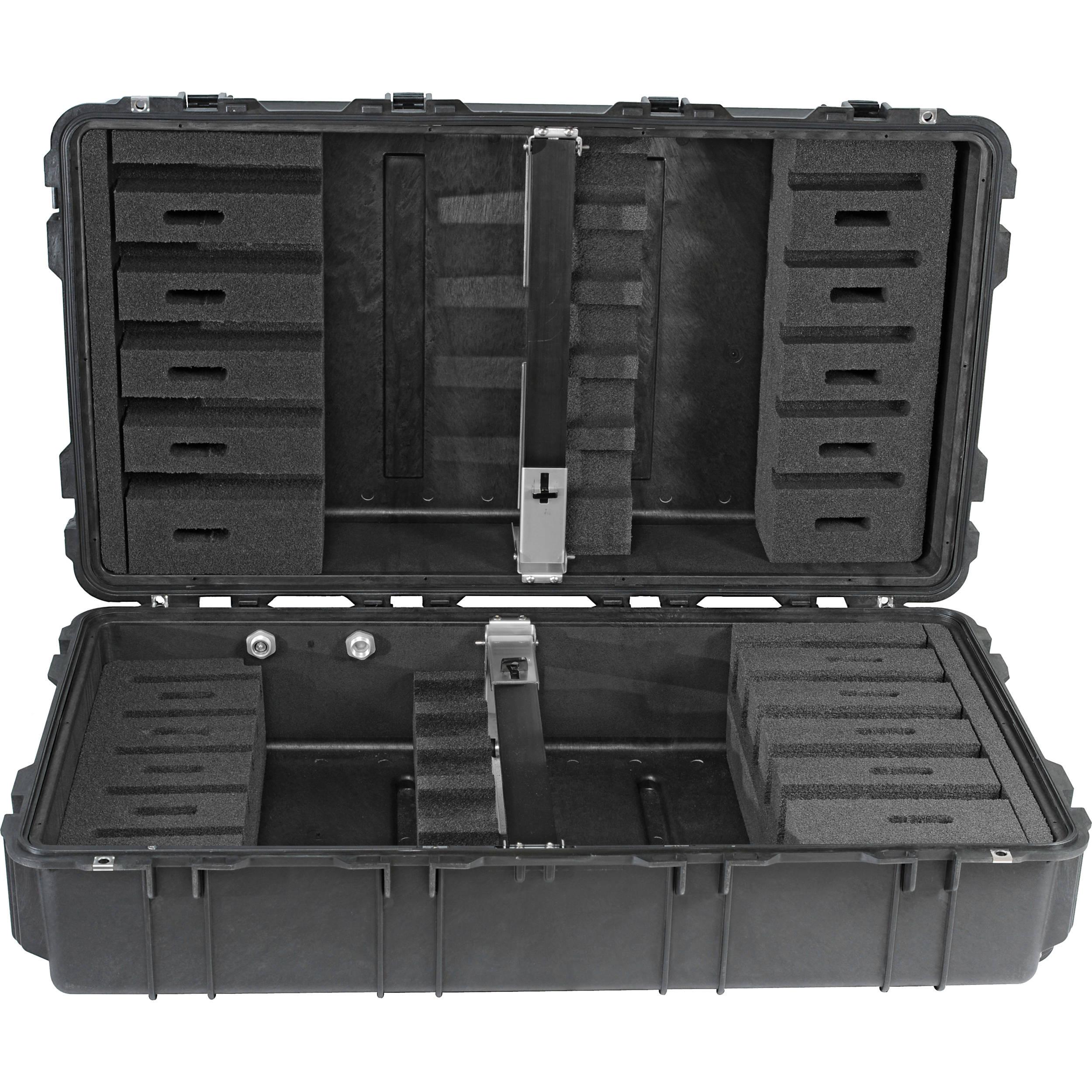 Pelican 1780RF Long Weapons Case with Rifle Foam Cut Insert (Black)