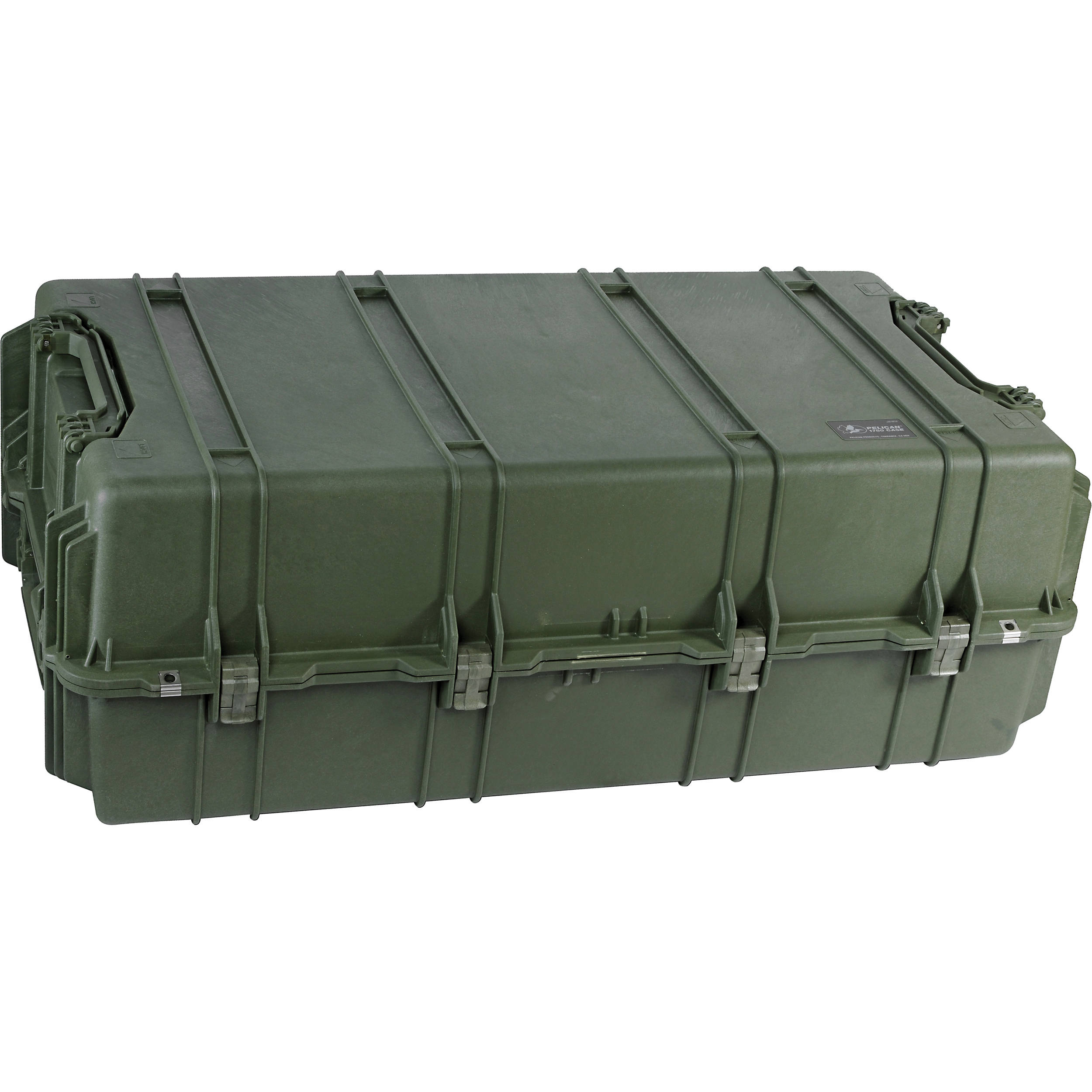 Pelican 1780 Transport Case without Foam (Olive Drab Green)