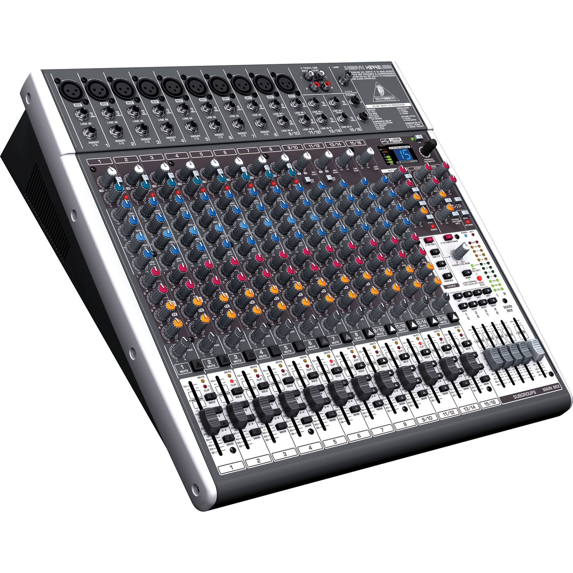 Behringer Xenyx X2442USB Audio Mixer
