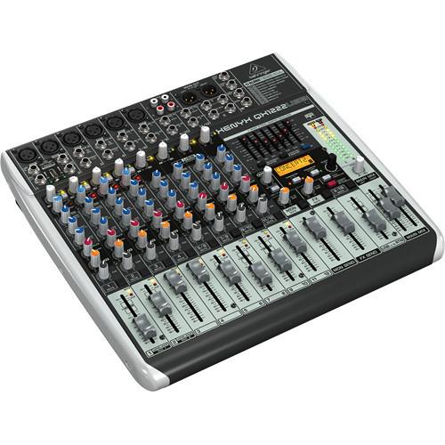 Behringer Xenyx QX1222USB Audio Mixer