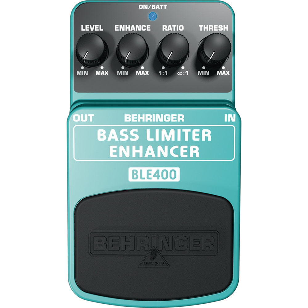 Behringer Bass Limiter Enhancer BLE400 Effects Pedal
