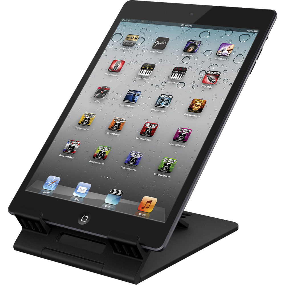 IK Multimedia iKlip Studio Desktop Stand for iPad mini