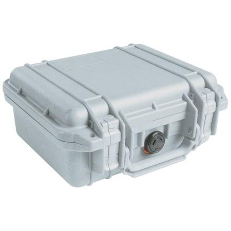 Pelican 1200 Case without Foam (Silver)