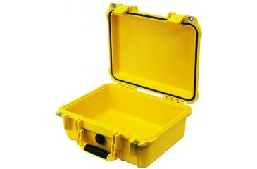 Pelican 1400NF Case without Foam (Yellow)