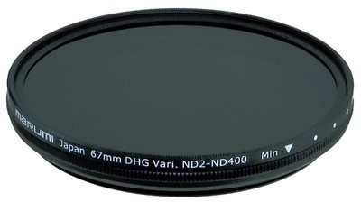 Marumi 67mm Variable ND2 - ND400 DHG filter
