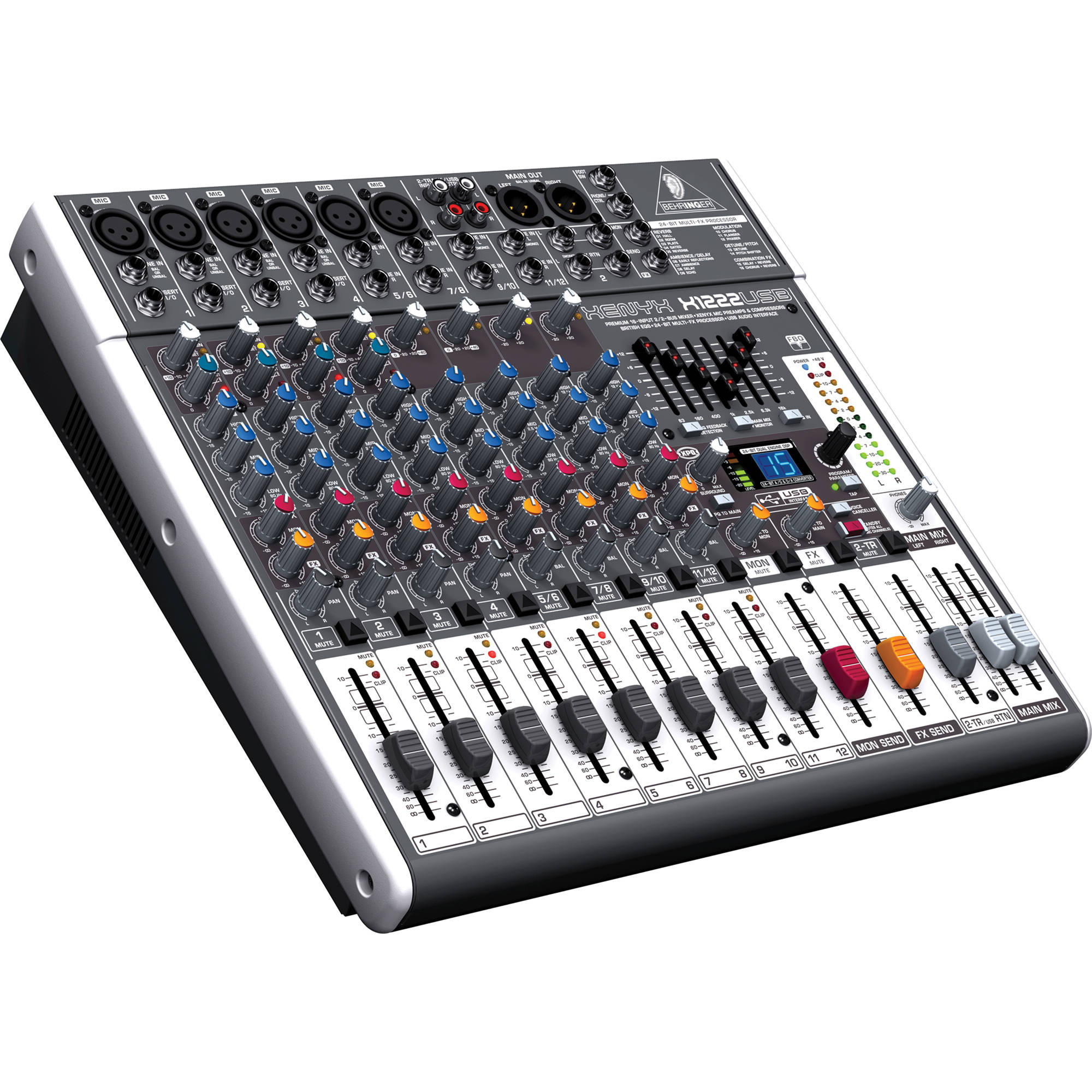 Behringer Xenyx X1222USB Mixer