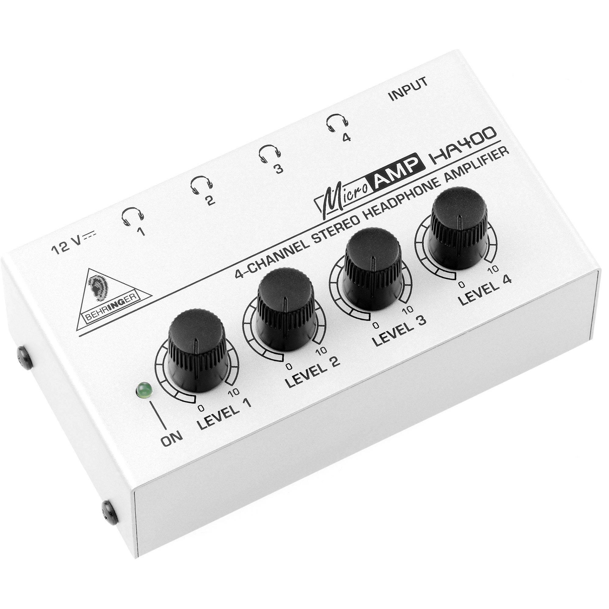 Behringer HA400 Headphone Amplifier