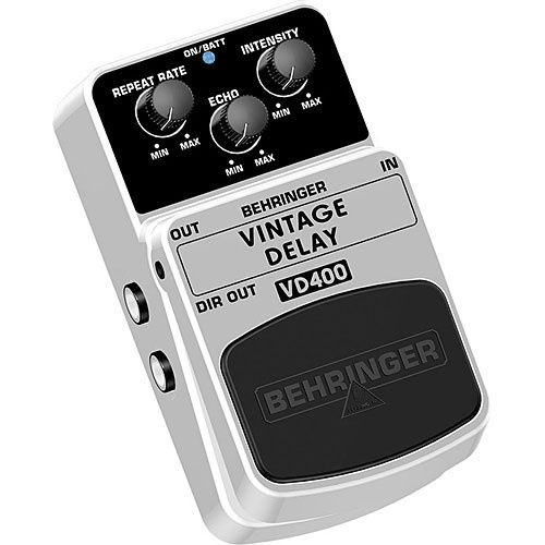 Behringer Vintage Delay VD400 Effects Pedal
