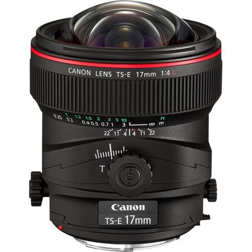 Canon TS-E 17mm f4 L Tilt Shift Lens