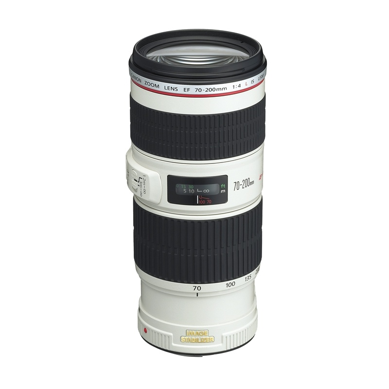 Canon EF 70-200mm f4 L IS USM Telephoto Lens