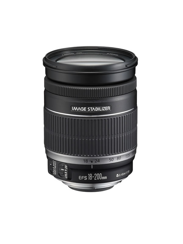Canon EFS 18-200mm IS f3.5-5.6 Lens