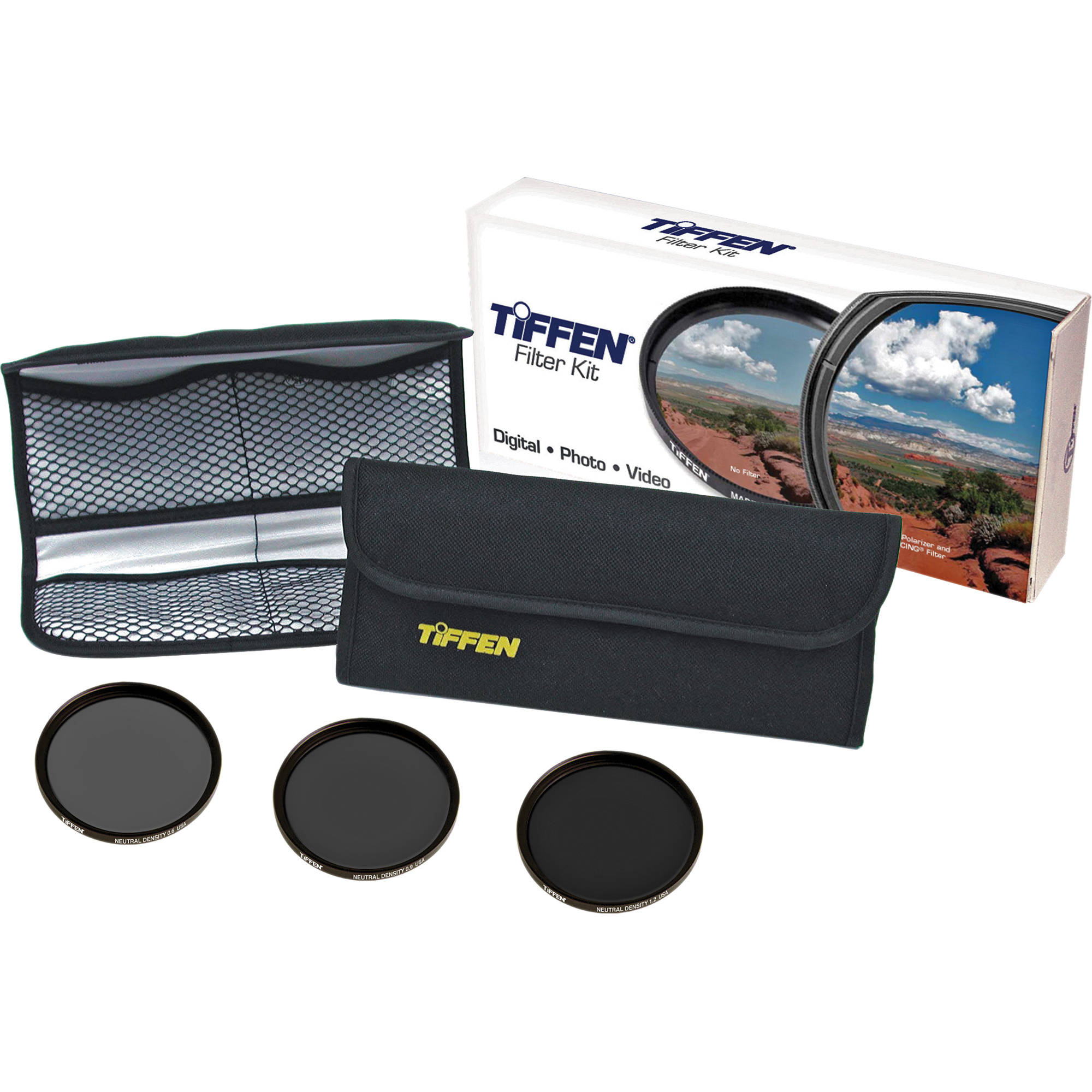 Tiffen 62mm Digital Neutral Density Filter Kit