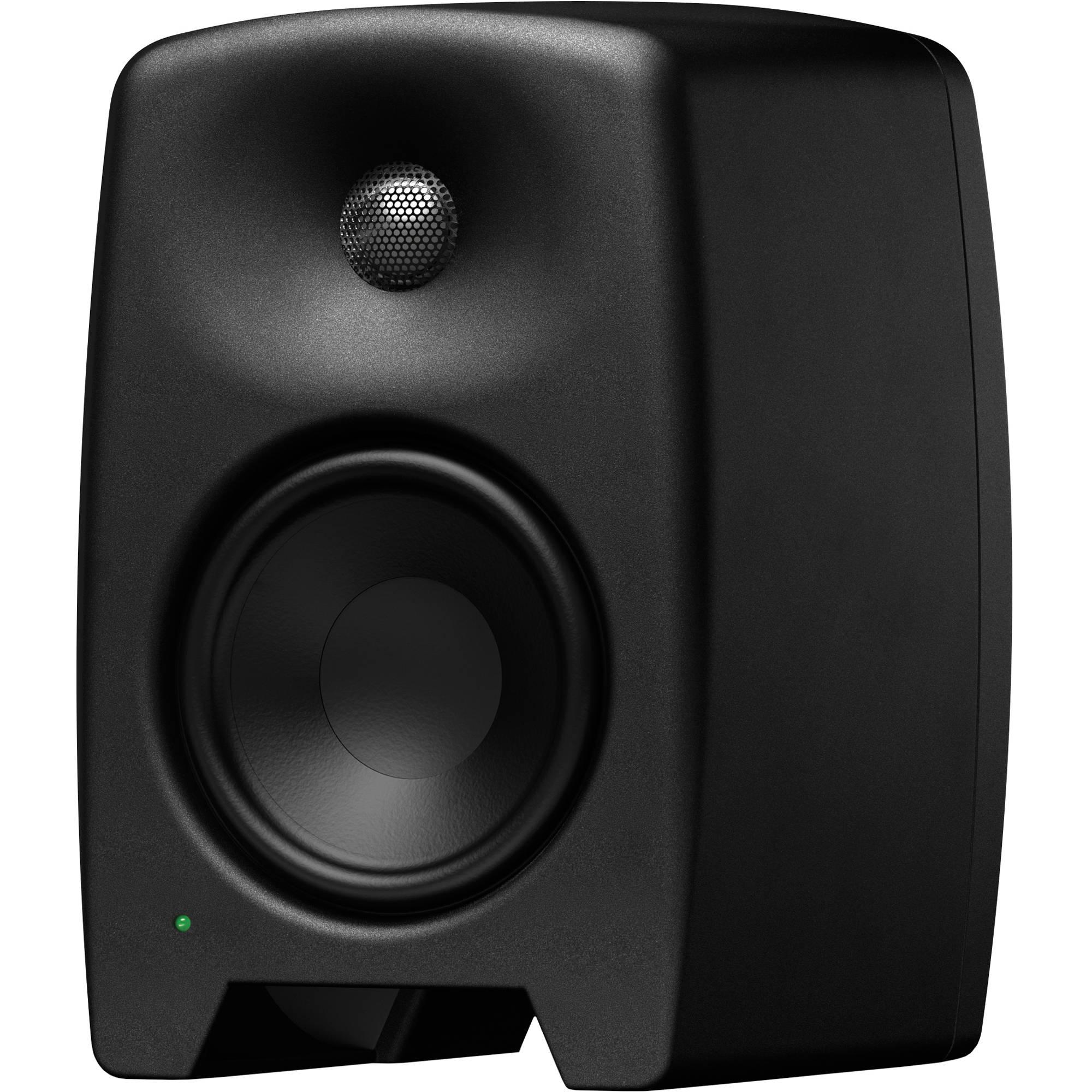 "Genelec M040 Active Two-Way 6.5"" Studio Monitor (Single, Black)"