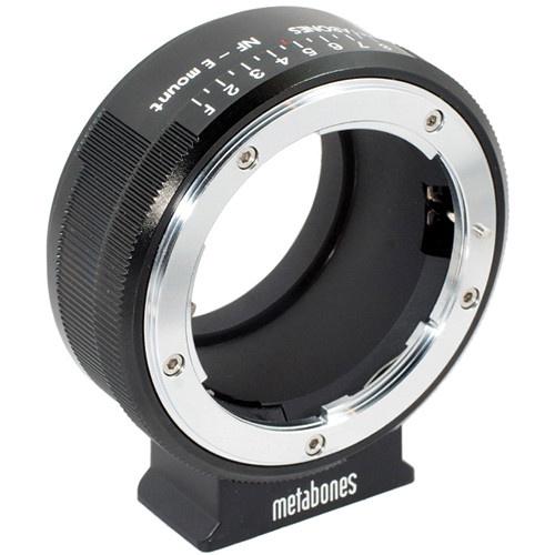 Metabones Nikon G Lens to Sony NEX Camera Lens Mount Adapter (Matte Black)