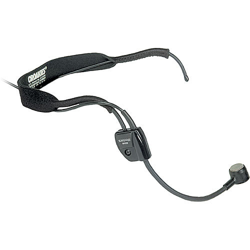 Shure WH20QTR Dynamic Wired Headset Microphone
