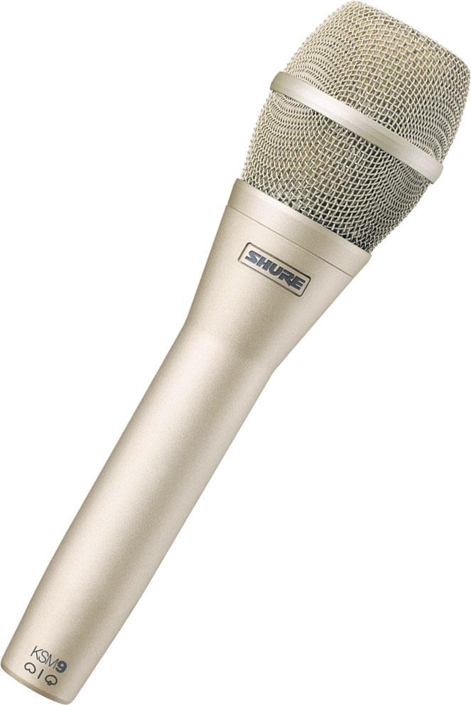 Shure KSM9SL Handheld Vocal Condenser Microphone