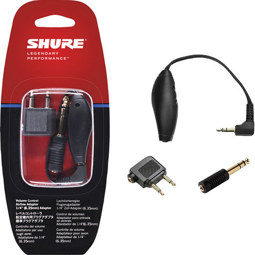 Shure Ultimate Earphone Airline Adapter Kit