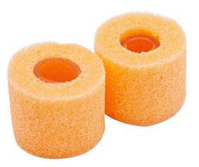 Shure Orange Foam Sleeves - 2 Small