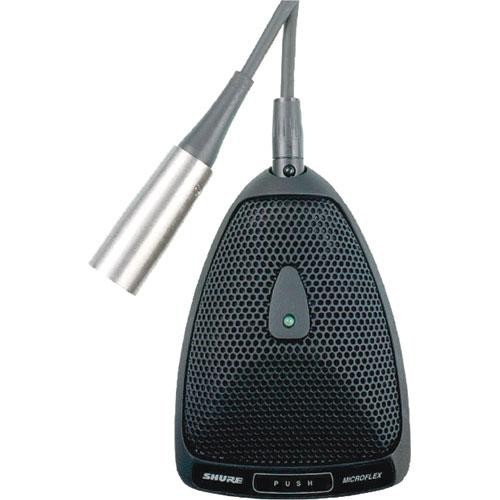 Shure MX393/O Microflex Omnidirectional Boundary Microphone