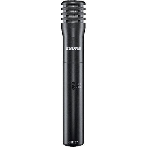 Shure SM137 Studio Condenser Microphone