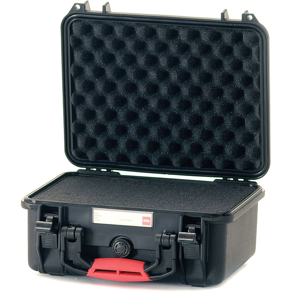 HPRC 2300F HPRC Hard Case with Cubed Foam Interior (Black)