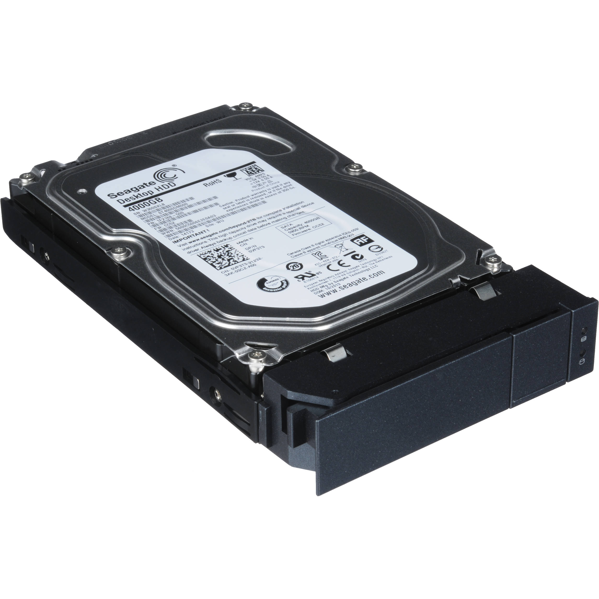 Promise Technology 4TB Pegasus2 SATA HDD with drive sled