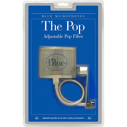 Blue The Pop - Universal Wire Mesh Windscreen