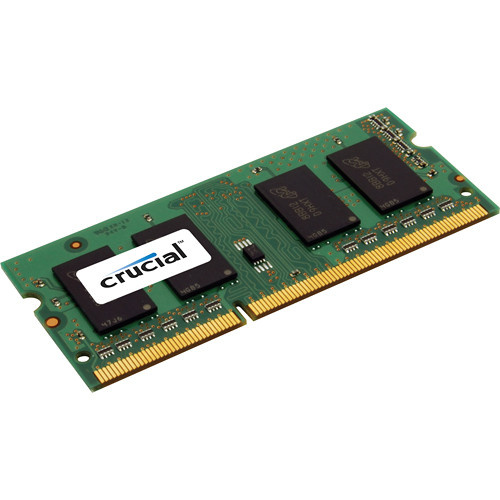 Crucial CT102464BF160B 8GB 204-pin SODIMM, DDR3 PC3-12800 Memory Module