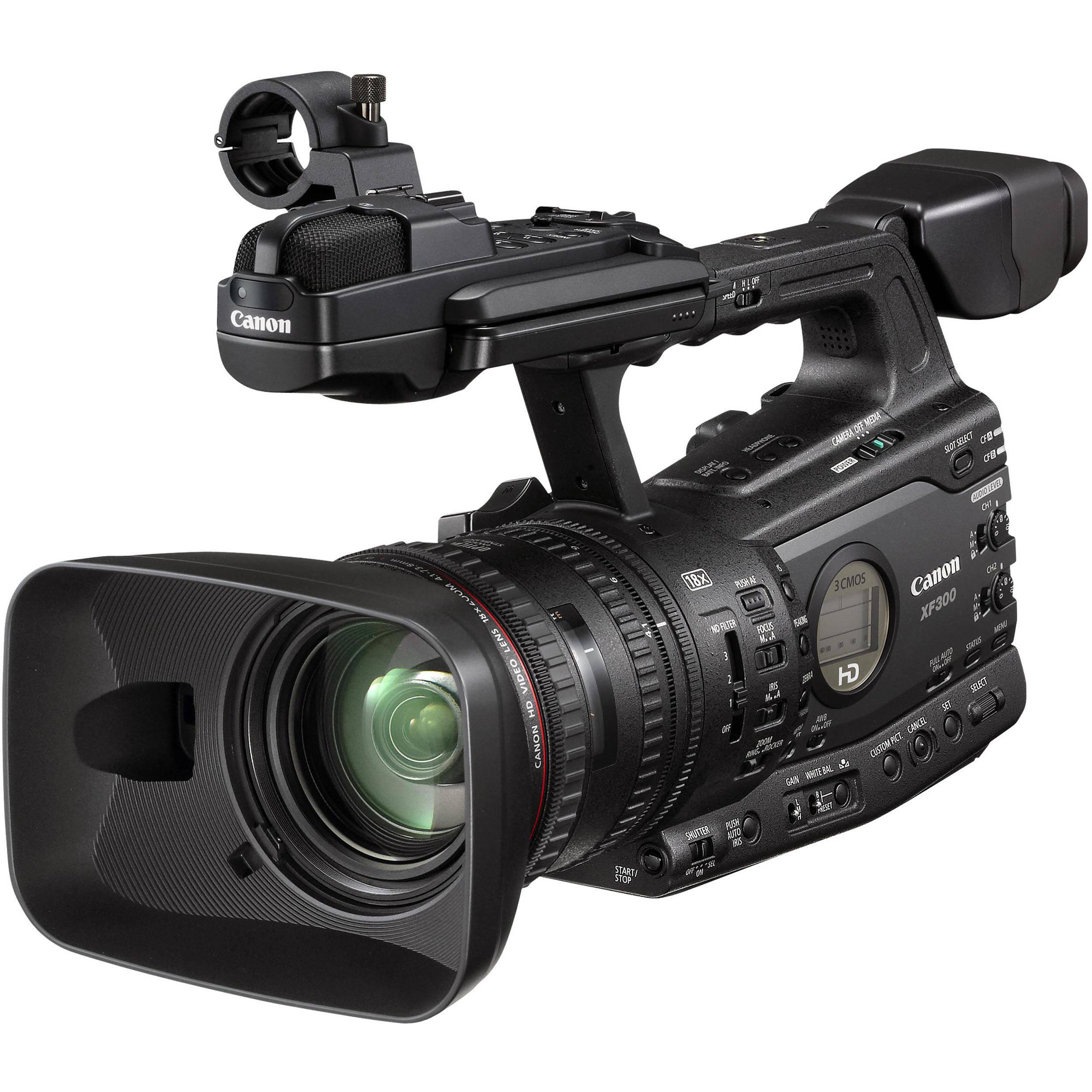 Canon XF300 Professional Video Camera