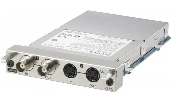 Sony BKM-227W Input Adapter for LMD-2140 Monitor, Composite and S-Video Inputs