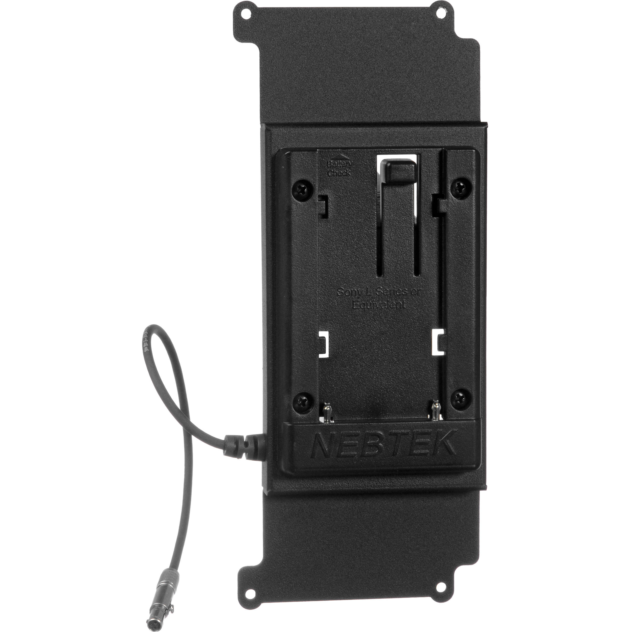 Convergent Design Odyssey Battery Plate for Sony L-Series Batteries (7.4V)