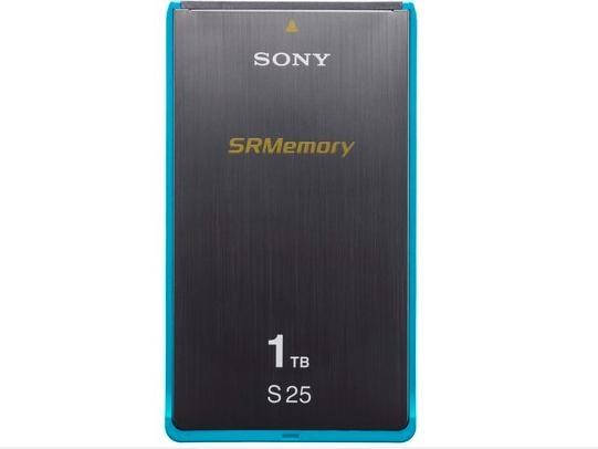 Sony 1TB S25 Series SR Memory Card (2.5 Gbps guaranteed write speed)