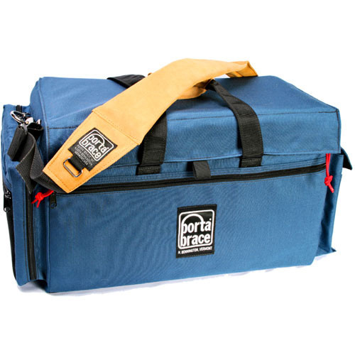 Porta Brace DVO-3U Large Carrying Case for Camcorder (Signature Blue)