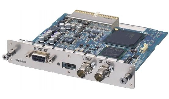 Sony HFBK-SD1 Standard Definition Digital and Analog Output Board for BRC-H700 Communications Camera