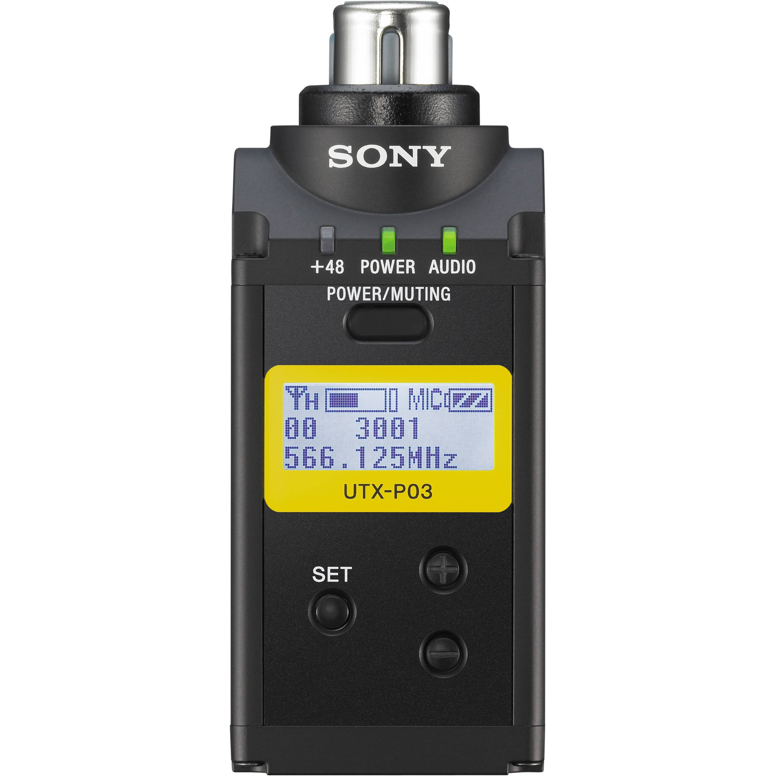 Sony UTX-P03 Hybrid Digital Wireless Plug-on Transmitter
