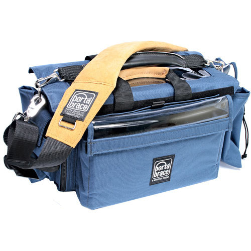 Porta Brace AO-2X Audio Organizer Case (Signature Blue)
