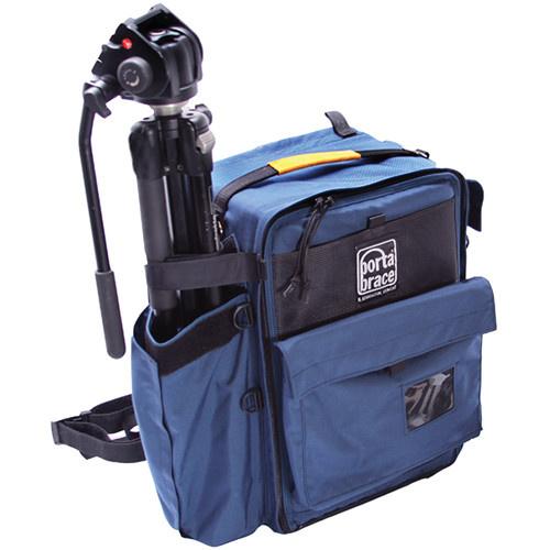 Porta Brace BC-2N Large D-SLR and Tripod Backpack Camera Case (Signature Blue)