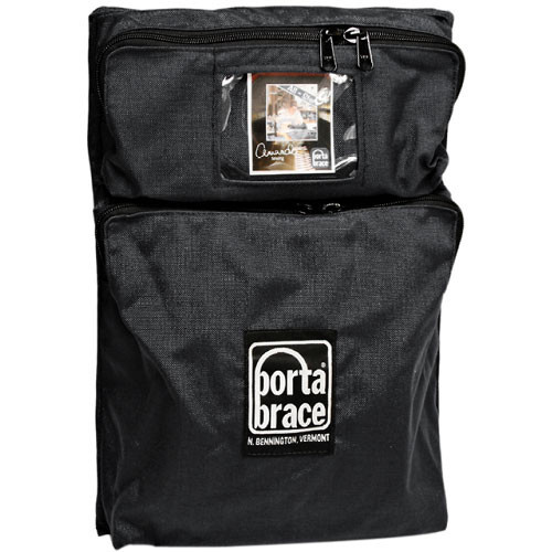 Porta Brace BK-P2MB Front Two-Pocket Module - for Porta Brace Local or Extreme Backpacks (Black)