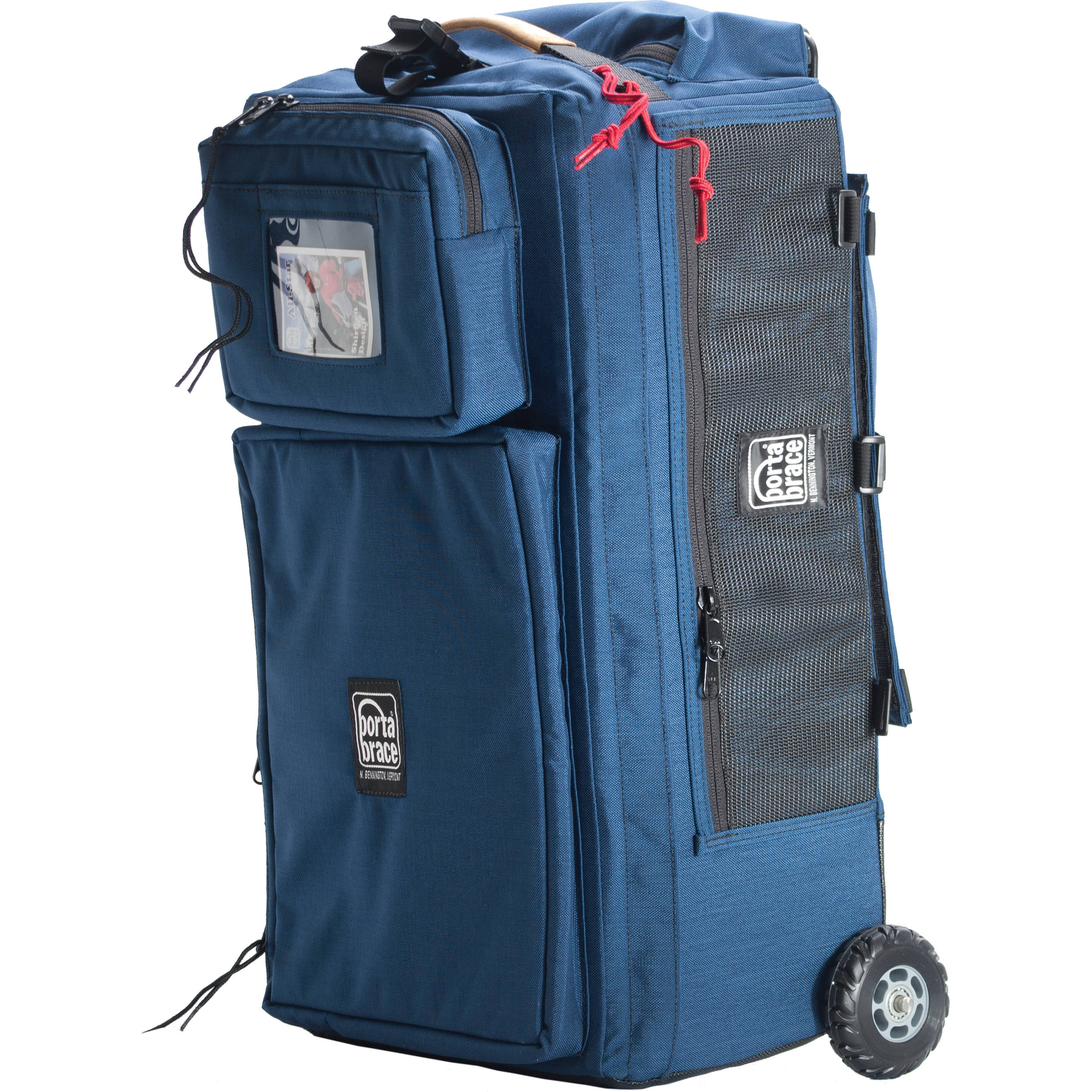 Porta Brace WPC-1OR Wheeled Production Case (Small, Signature Blue)