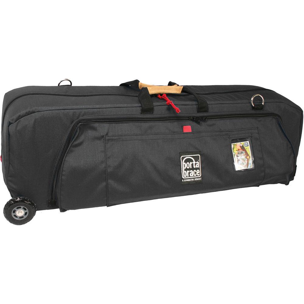 Porta Brace WRB-3OR Wheeled Run Bag (Midnight Black)