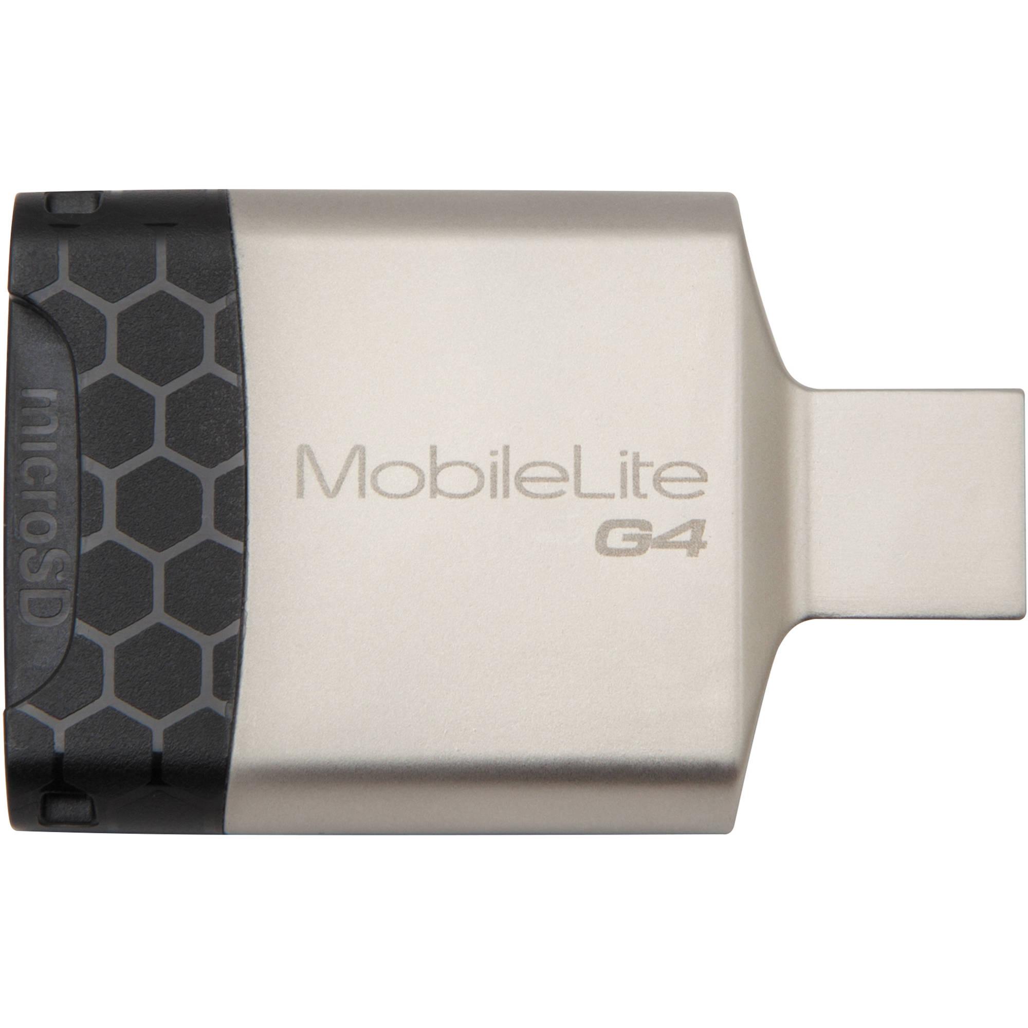 Kingston MobileLite G4 Multi-Function SD / microSD Card Reader