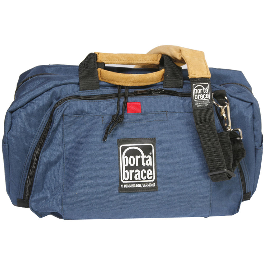 Porta Brace RB-1 Lightweight Run Bag, Small - for Audio and Video Production Accessories (Blue)