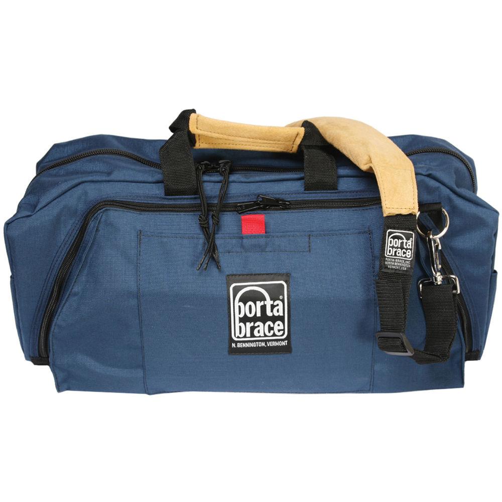 Porta Brace RB-2 Lightweight Run Bag, Medium - for Audio and Video Production Accessories (Blue)