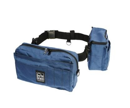 Porta Brace BP-2 Waist Belt Production Pack - for Camcorder Batteries, Tapes and Accessories (Blue)